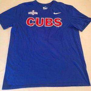 Nike Chicago Cubs 2016 World Series T Shirt XL